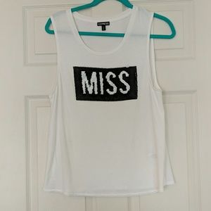 Bridal Miss to Mrs. Convertible tank